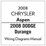 81 370 08358 2008 chrysler aspen and durango service manual (english) mopar Chrysler 300 Wiring Schematics at mifinder.co